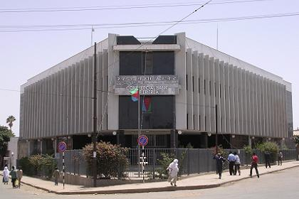 New location of the Commercial Bank - Asmara Eritrea.