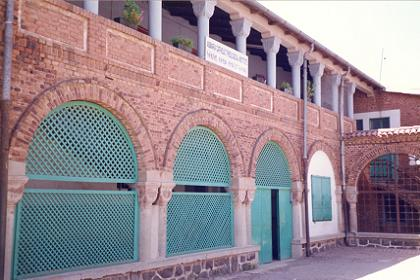 Catholic school at the Cathedral compound - Harnet Avenue Asmara