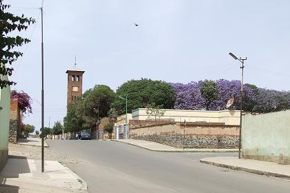 The streets of Gheza Banda - Asmara.