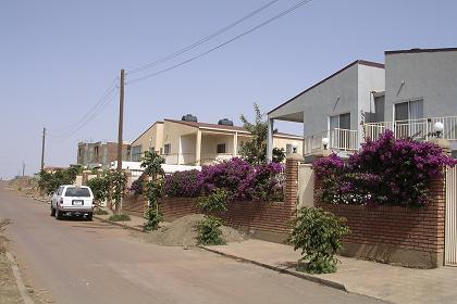 Modern housing - Space 2001 Asmara.