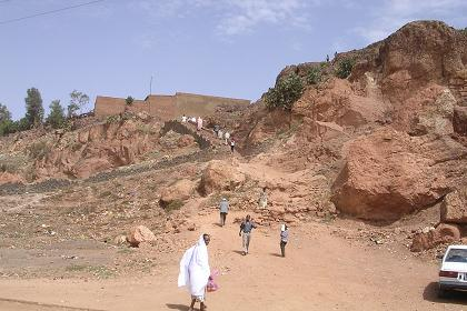 People living in the hills of Acria - Asmara.