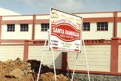 Asmara Eritrea - Offices and factories