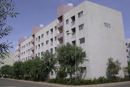 Modern housing of the Sembel Housing Complex