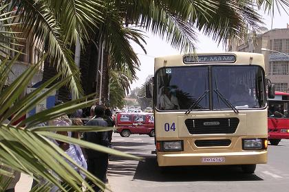 Bus of the Asmara Bus Company