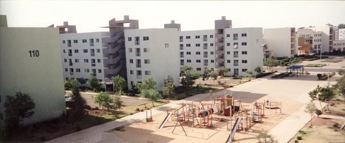 Playgrounds for the children at the Sembel Housing Complex Asmara