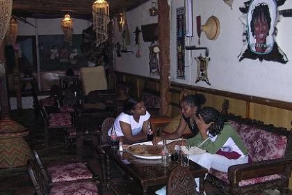 Highly decorated national restaurant Milano - Asmara