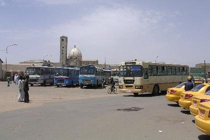 Mede Ertra bus station near the covered markets Asmara