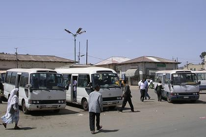 Bus station of the Gemal Public Transport