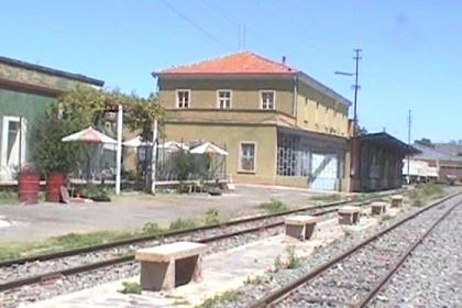 The Asmara railway station