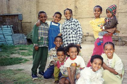 Some children - Asmara Eritrea