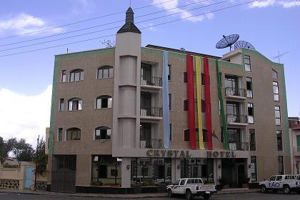 Crystal Hotel - just behind Cinema Roma in the center of Asmara