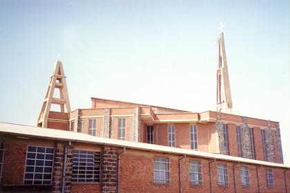 Mary Lucia's Ascend Catholic church & monastery Asmara