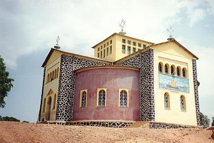 Orthodox church of Haz Haz Asmara