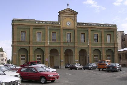 The Central Post Office building of Asmara