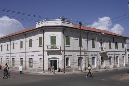 The Keren Hotel, also known as Albergo Italia - Asmara - Eritrea