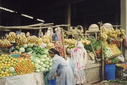 Covered markets - Asmara - Eritrea