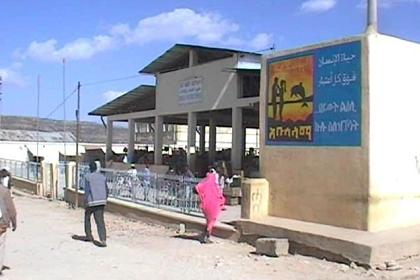 Billboard promoting safe sex in Eritrea - Adi Keih Eritrea.