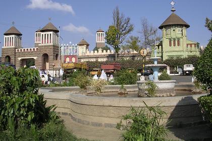 Nda Mariam Orthodox Cathedral - Asmara Eritrea.