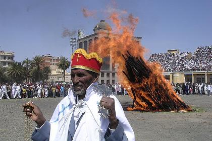 Meskel Festival - September 27 2005 - Bahti Meskerem Asmara Eritrea.