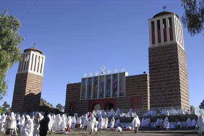 Asmara eritrea november 30th 2005 celebration of nigdet santa mariam at the coptic cathedral in asmara m4hsunfo