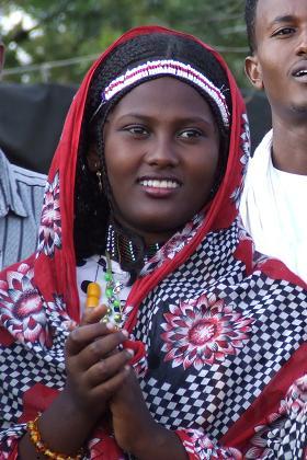 Woman of the Saho ethnic group - Festival Eritrea 2006 - Asmara Eritrea.