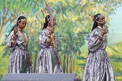 Afar women - Festival Eritrea - August 03 2006 - Expo Asmara Eritrea.