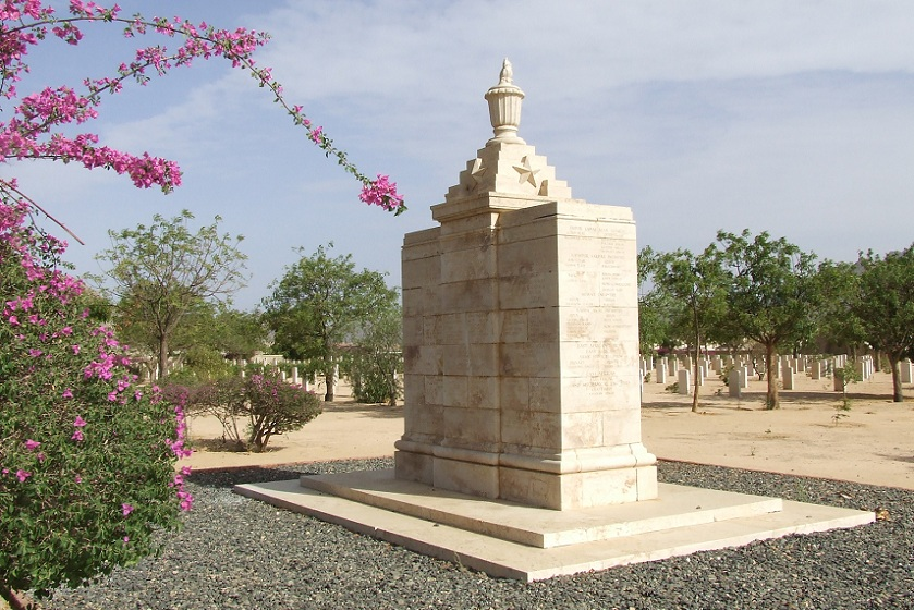 Sikh and Hindu cremation memorial - Keren Eritrea.