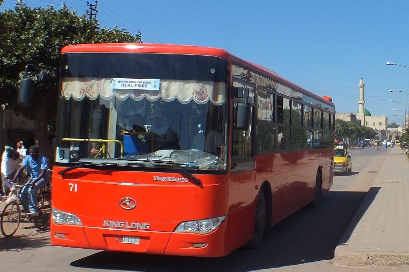 Asmara Eritrea - Public transport   Public transport